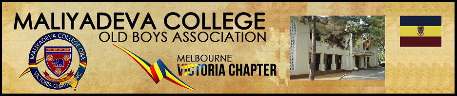Maliyadeva College OBA - Victoria Chapter